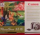 Canon Powershot S1 Is - komplektas ir įkroviklis