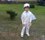 Krikštynų kostiumėlis iš lino Druskininkai