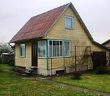 Parduodamas murinis- medinis karkasinis namas