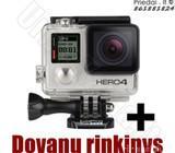 Gopro Hero 4 Silver veiksmo kamera + Dovana