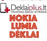 Nokia lumia telefonų dėklai ir priedai