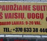 Sulčiu spaudimas Vilniuje Skersinės g.10molėtų pl