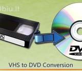 Vhs, Vhs-c, mini Dv, 8mm kasetes i Dvd/HDD 2.90eur